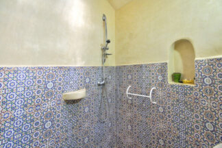 Adapted shower