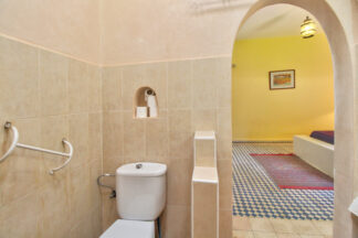Furnished toilets