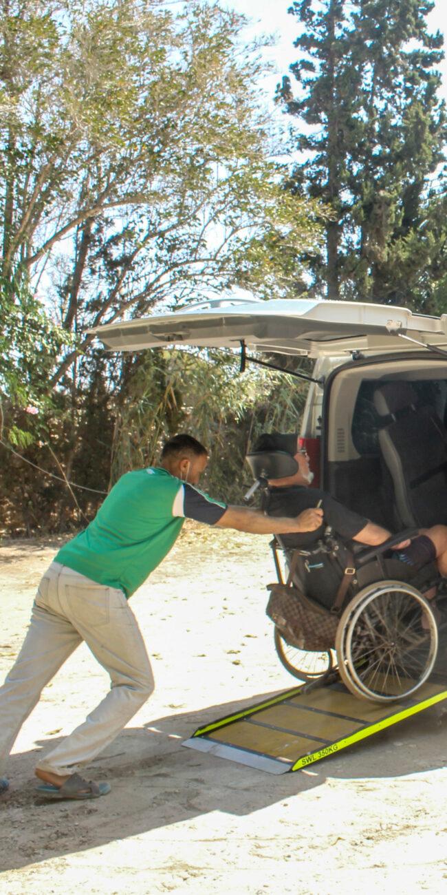disabled transport